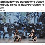 Miami New Times anticipates DanzAbierta's performance